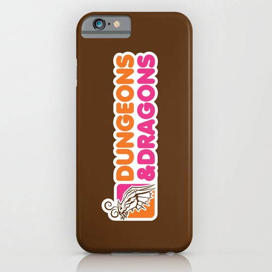 D&D All Nighter iPhone & iPod Case