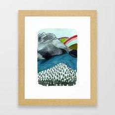 Landscapes / Nr. 4 Framed Art Print