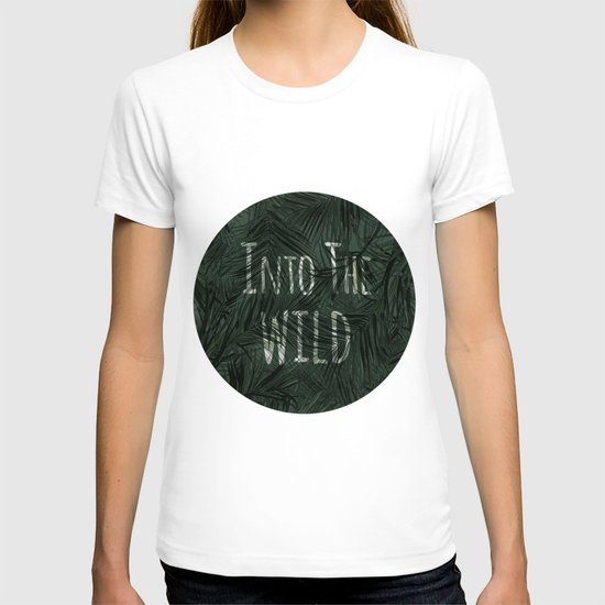 into the wild *palms T-shirt
