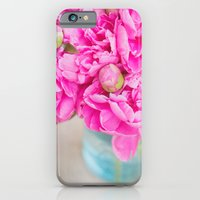 PINK PEONIES iPhone 6 Slim Case