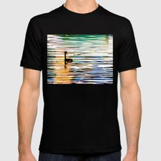 Chillin' SMALL Mens Fitted Tee Black