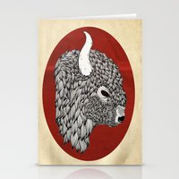 The Buffalo Stationery Cards
