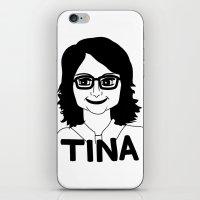 Tina Fey iPhone & iPod Skin