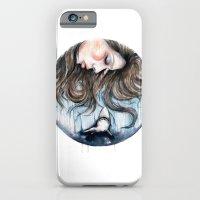 Jaws // Fashion Illustra… iPhone 6 Slim Case