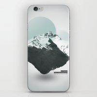 Mt. Everest - The Surrea… iPhone & iPod Skin