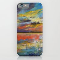 iPhone & iPod Case featuring Key West Florida Sunset by Michael Creese