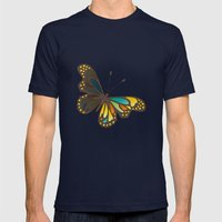Transforming Mens Fitted Tee Navy SMALL