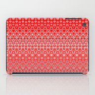 Mosaic Red iPad Case