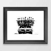 Tread Framed Art Print