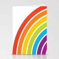 A Rainbow World Stationery Cards