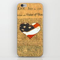 Happy Birthday America iPhone & iPod Skin