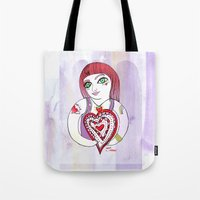 --->Strawberry_POP_Love! Tote Bag
