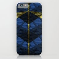 iPhone Cases featuring Blue Night by lalaprints