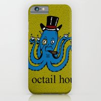 iPhone & iPod Case featuring Octail Hour by Adam Metzner