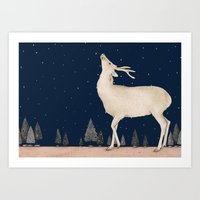 Winter is coming  Art Print