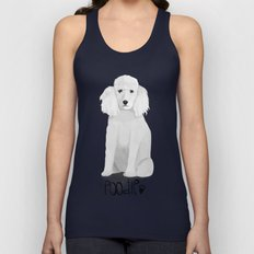 A Dogs Life - Poodle Unisex Tank Top