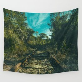 Wall Tapestry - Abandoned - Mixed Imagery