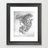 Zepher Framed Art Print