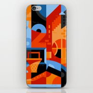 iPhone & iPod Skin featuring Basketball by Koivo