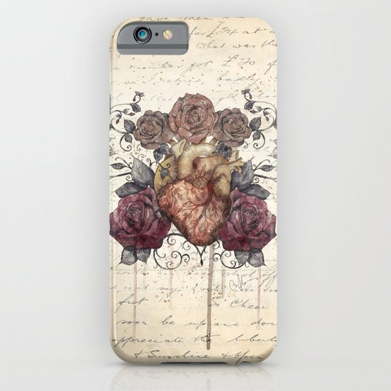 Flowers from my heart iPhone & iPod Case