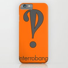 Interrobang, Serif iPhone 6s Slim Case
