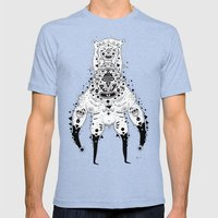 Crab Man Mens Fitted Tee Tri-Blue SMALL