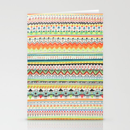 Pattern No.3 Stationery Card