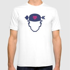 Soldier of love Mens Fitted Tee White SMALL