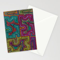 Concentric Lines Stationery Cards