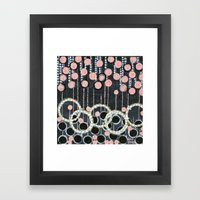 :: Her Pearls :: Framed Art Print