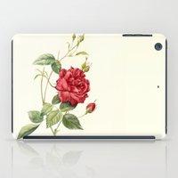 Botanical study - Rose iPad Case