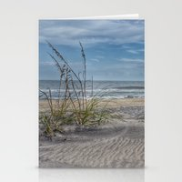 Sand Swirls Stationery Cards