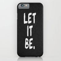 Let It Be 01 iPhone 6 Slim Case