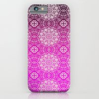 iPhone & iPod Case featuring Lacey Ombre' Mandalas by Nina May Designs