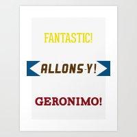 Fanlonimo! Art Print