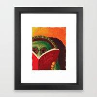 Kiss My Shell Goodbye Framed Art Print