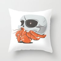 Skull House - One-Eyed W… Throw Pillow