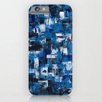 Blue Blade Painting iPhone 6 Slim Case