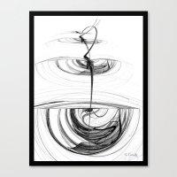 Ballerina Canvas Print