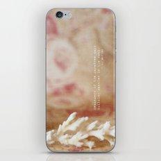 Reminders iPhone & iPod Skin