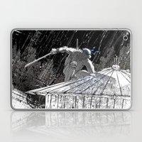 Black And White Ninja Tu… Laptop & iPad Skin