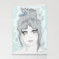 Zooey. Stationery Cards