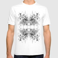 Equilibrium 01 Mens Fitted Tee White SMALL