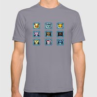 Stage Select Mens Fitted Tee Slate SMALL