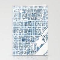 Washington DC Blueprint … Stationery Cards