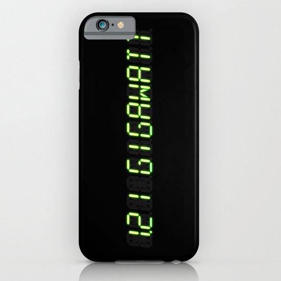 1.21 Gigawatt - Back to the future iPhone & iPod Case