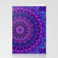 Harmony In Purple Stationery Cards