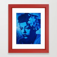 Lady Billie Framed Art Print