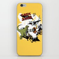 T-Rex VS Shark  iPhone & iPod Skin