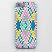 iPhone & iPod Case featuring Map Mirror Outline by Project M